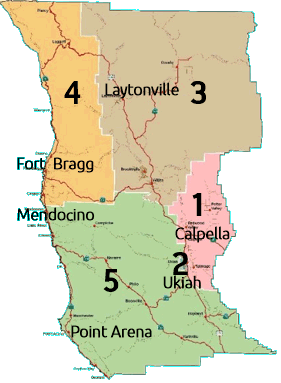 Supervisorial Districts